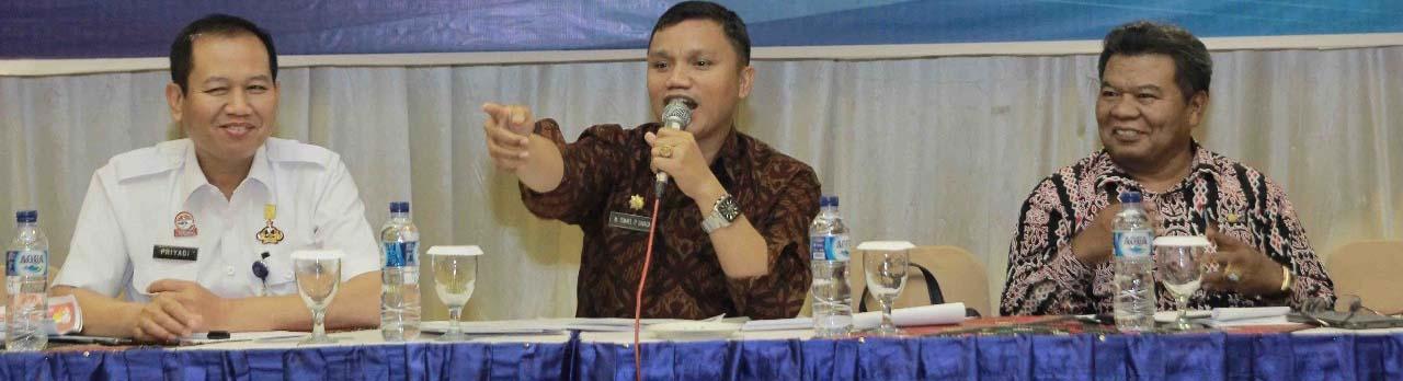 <p>Rapat Sinkronisasi Data Kependudukan Dalam Rangka Mendukung Pemilu 2019</p>